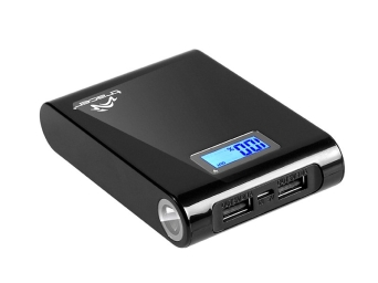 Power bank 10400 mAh / czarny Tracer
